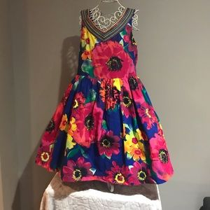 Girl's Childrens Place Multi-Colour Dress NWT